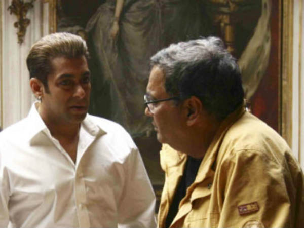 Subhash Ghai Set Direct Salman Khan Again