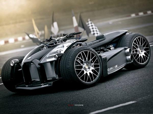 Lazareth Wazuma V8f Quad Has Ferrari V8 Engine