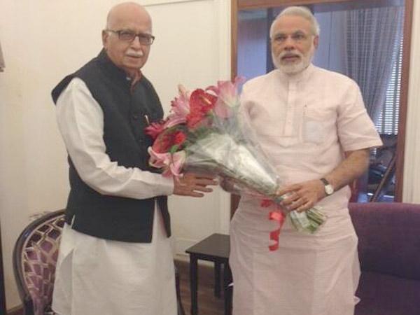 Narendra Modi Wishes Happy Birthday Lk Advani