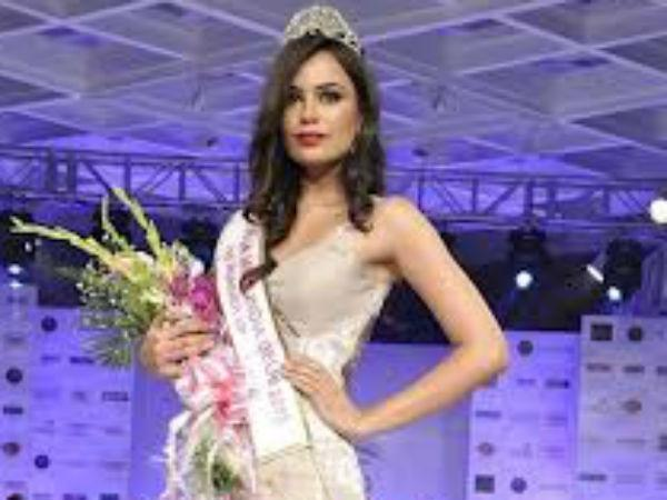 Miss Asia Pacific World Srishti Rana Crown Is Fake