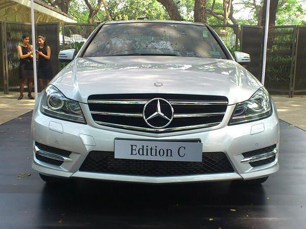 Mercedes Benz C Class Celebration Edition Launched
