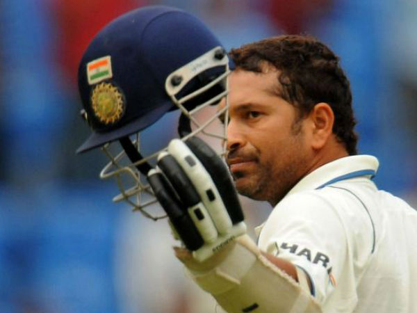 Sachin Tendulkar For 74 First Innings Farewell Test