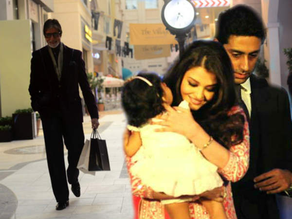 Aaradhya 2nd Birthday Today Dadu Amitabh Comeback From Dubai