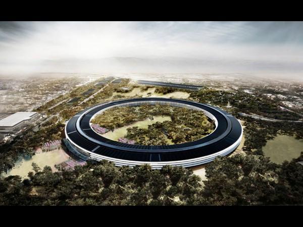Look Inside Apples Spaceship Headquarters