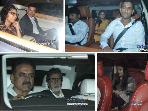 Photos Stars Light Up Sachin Tendulkar S Dinner Party