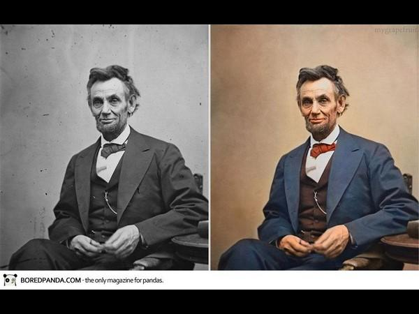 Famous Old Photographs Restored Color News
