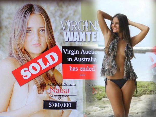 Brazilian Model Catarina Auction Her Virginity Online