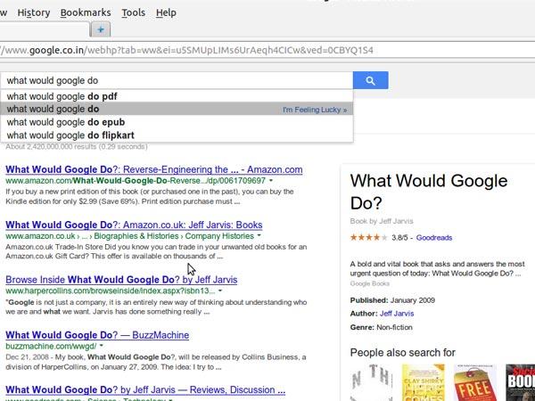 Fifteen Weird Questions Google