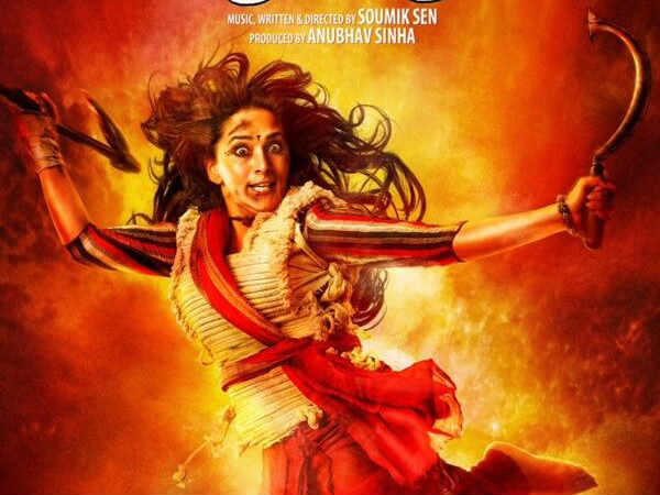 Madhuri Dixit Looks Like Durga In Gulaab Gang