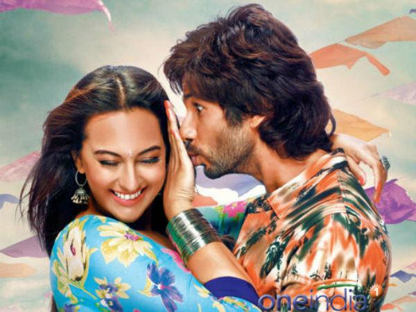 Shahid Kapoor Is Great Actor Said Actress Sonakshi Sinha