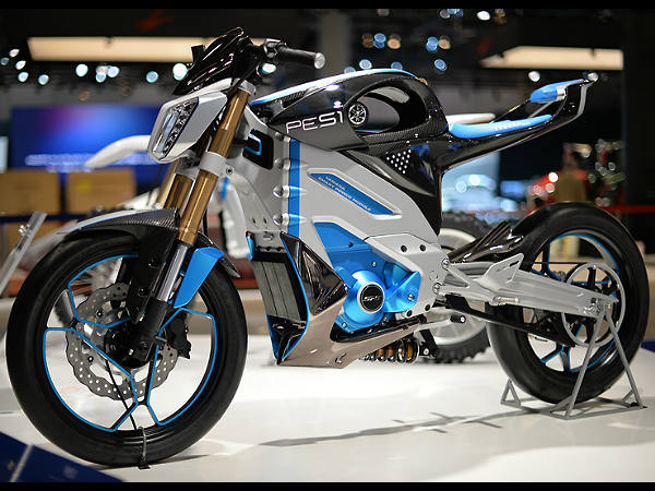 Yamaha Pes1 Electric Motorcycle Concept Tokyo Motor Show