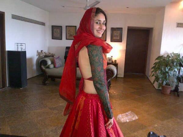 Kareena Kapoor Film Ram Leela Outfit