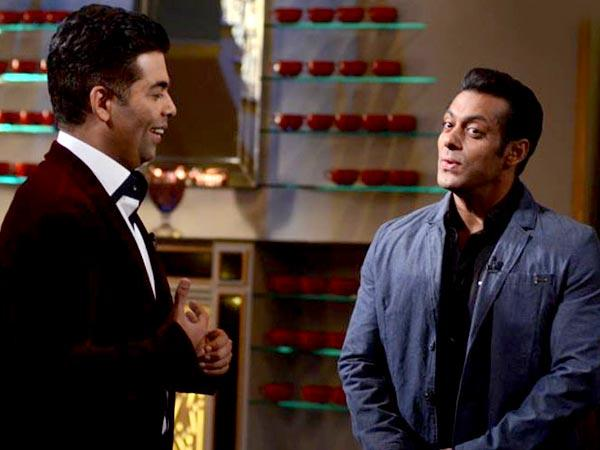 Salman Said He Is Virgin On Coffee With Karan Show