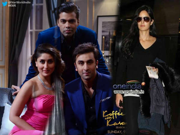 Koffee With Karan Kareena Kapoor Katrina Kaif Sister In Law Ranbir