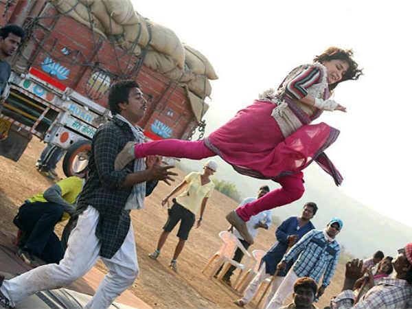 Dhak Dhak Girl Madhuri Now Dhishum Dishum Avtaar Gulaab Gang
