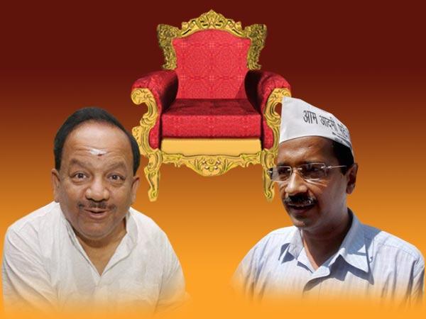Bjp Harshvardhan Should Be Delhi Cm Kejriwal Inside Lokpal