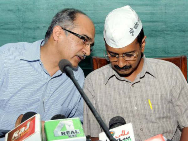 Aap Ready To Offer Issue Based Support To Bjp Says Prashant Bhushan