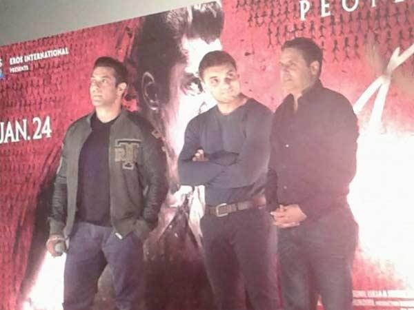 Salman Khan At Jai Ho Trailer Launch Gets Angry On Media