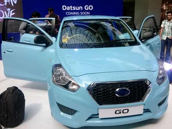 Datsun Go For India Entry Level Hatchback From Datsun