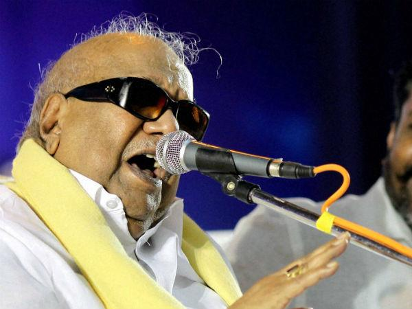 Karunanidhi Praises Narendra Modi Bjp Cold To Tie Up
