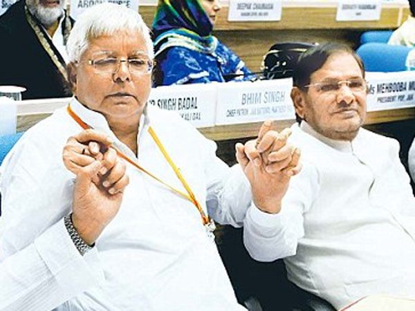 Lalu Prasad Yadav Sharad Yadav Admitted Aiims