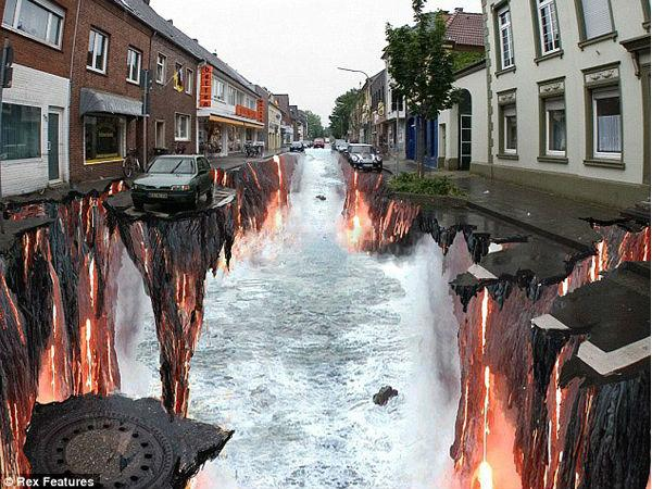See The Amazing Stunning 3d Street Art