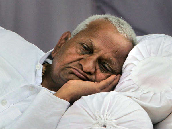 Anna Hazare S 18 Fasts For Various Public Causes