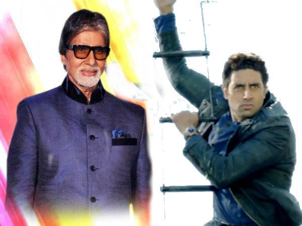Amitabh Bachchan Tweeted Abhishek Bachchan Picture