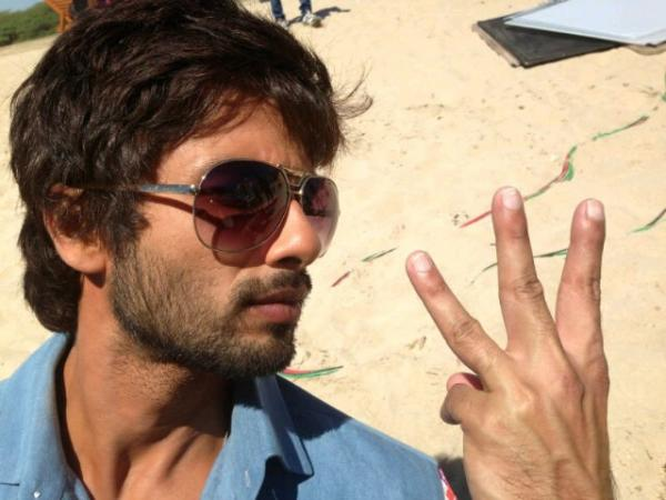 Shahid Kapoor On Holiday