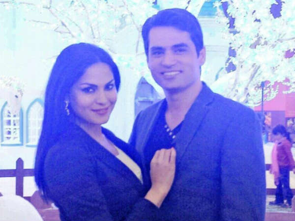 Pak Actress Veena Malik Ties Knot With Businessman In Dubai