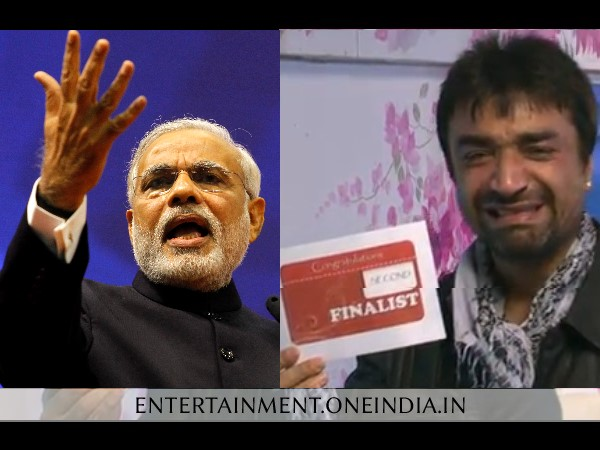 Ajaz Khan Calls Modi Chor On Bigg Boss 7 Case Filed