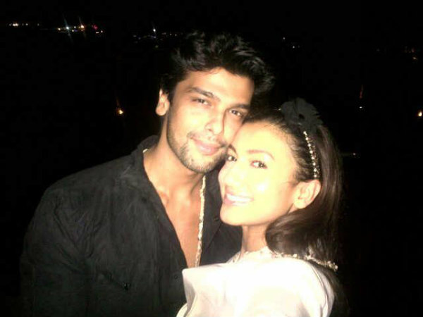 Gauhar Kushal Celebrate New Year Goa