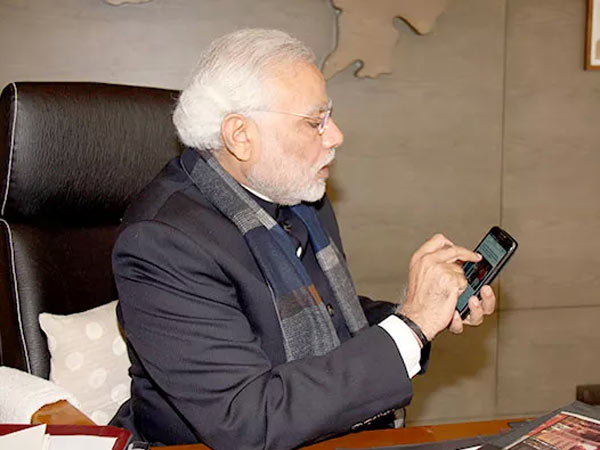 Mobile Application India272 Launched Narendra Modi