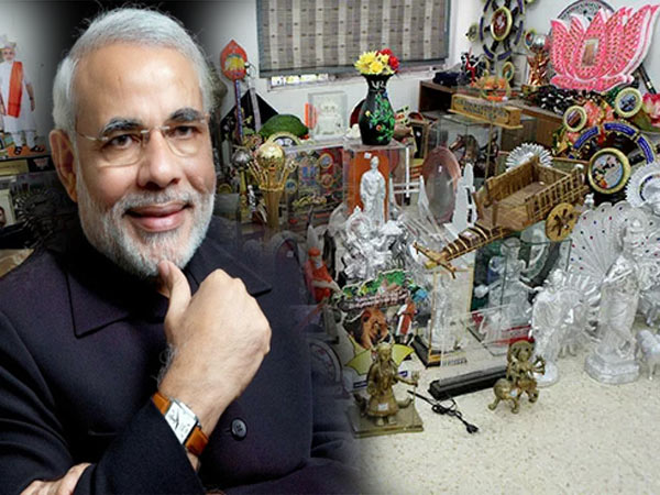 Modi Deposits The Gifts He Has Received Last Year For Girl Education