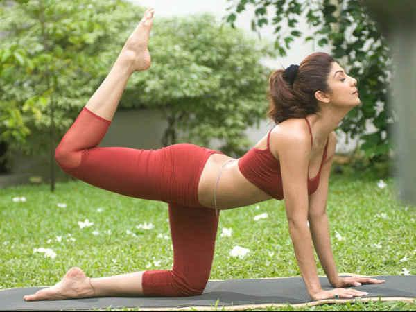 Celebrities Who Practice Yoga
