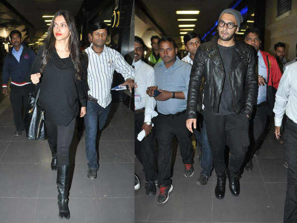 Deepika Celebrate Birthday New York With Ranveer