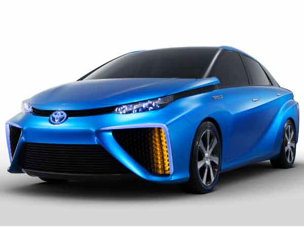 Toyota Shows New Hydrogen Car Vegas Ces