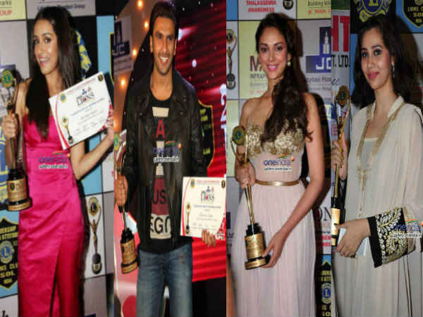 Shraddha Ranveer Kamya Glam Up Lions Gold Awards
