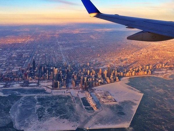 Photo Feature Effect Polar Vortex In America