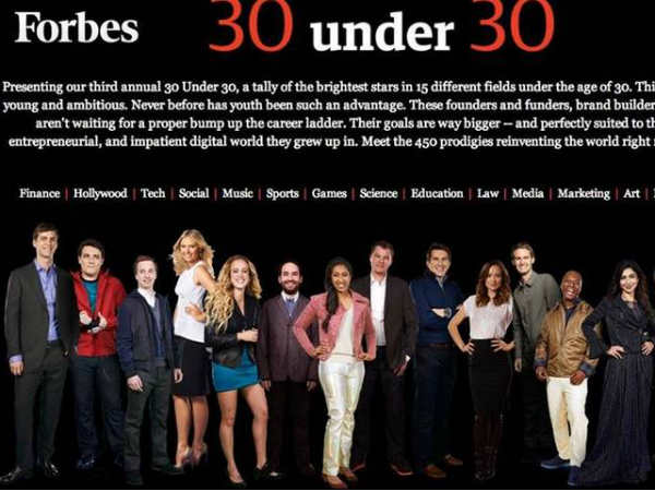 Indian Origin Achievers In Forbes List Of Brightest Young Stars