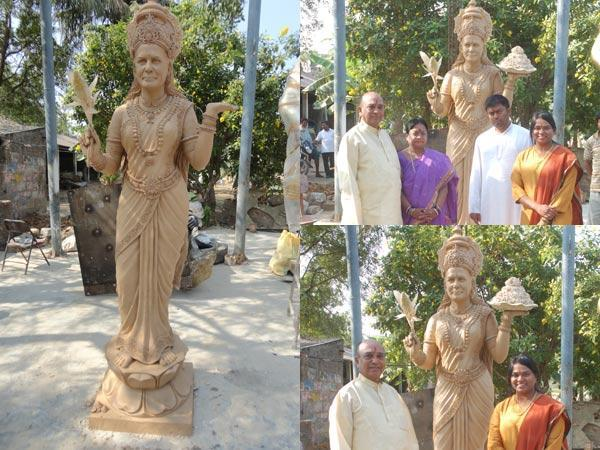 Telangana Mla Builds Temple Statue For Sonia Gandhi