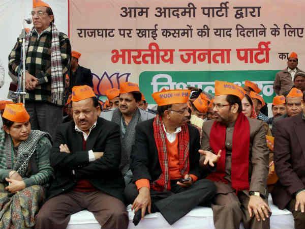 By Opposing Aap Delhi Bjp Digging Hole For Narendra Modi