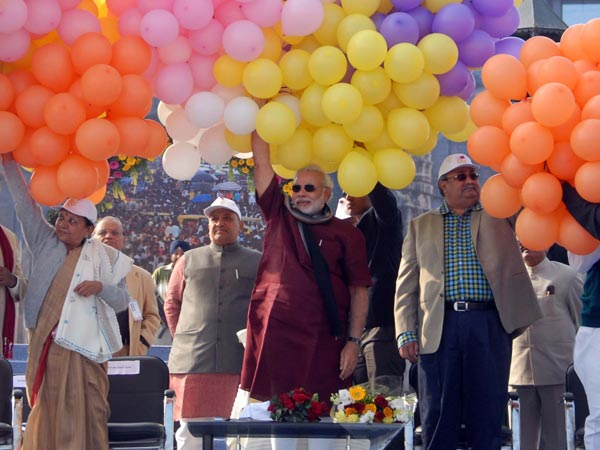 Narendra Modi Inaugurated International Kite Festival