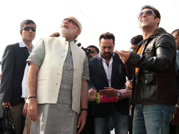 Salman Khan Endorses Narendra Modi For Pm Post