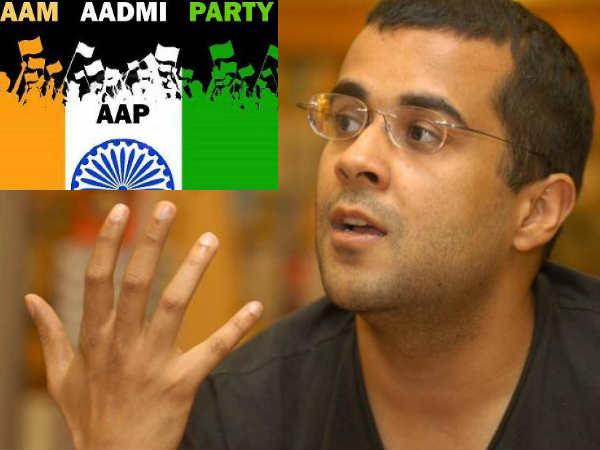 Aap An Item Girl Of Politics Chetan Bhagat