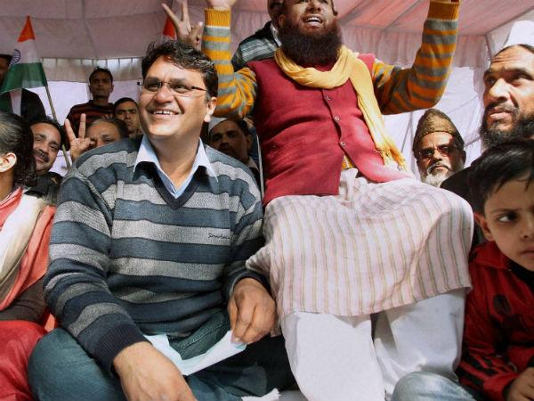 Vinod Binny Says He Has Ended His Strike On Anna Hazare Advice