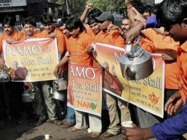 Narendra Modi Chai Points Catch Up With Bangaloreans
