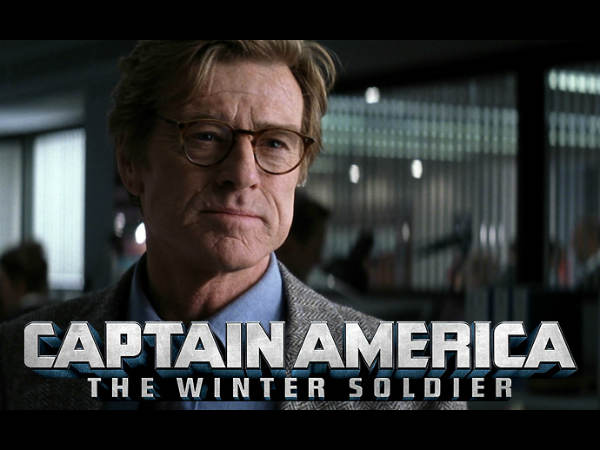 Redford Accepted Captain America The Winter Soldier Technology Sake