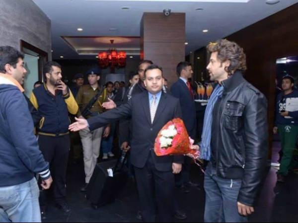 Hrithik Roshan Arrived Shimla Resume Bang Bang Shoot