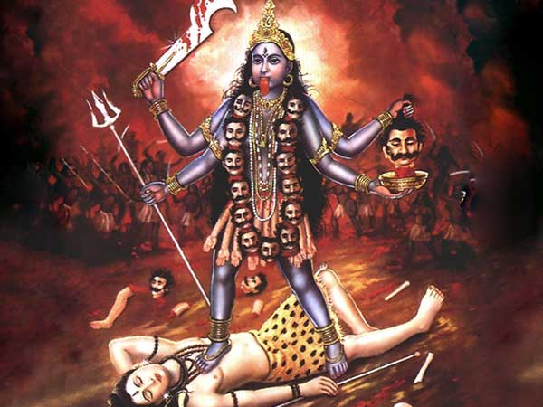 Why Did Kali Step On Shiva Chest